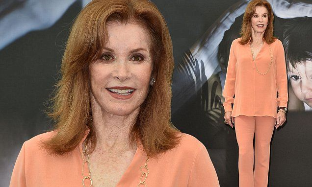 Stephanie Powers cuts a youthful figure in Monte Carlo