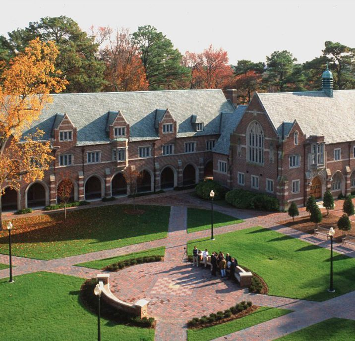 Ryland Hall, University of Richmond (1913) - by Cram, Goodhue and Ferguson  Well not a child anymore but this was my college. Very pretty and Ryland was my building where I took most of classes for my major Psychology.