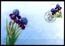 Blumen. Iris. FDC. Lettland 2013