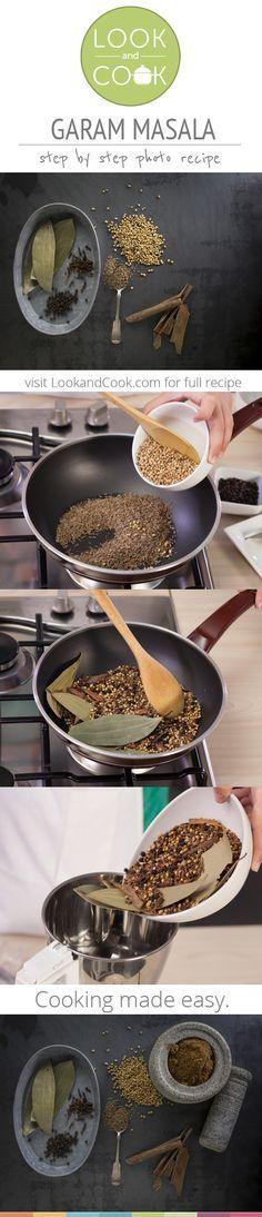 GARAM MASALA RECIPE Garam Masala Recipe (#LC14167): This home made recipe. Get step by step photo recipe at lookandcook.com