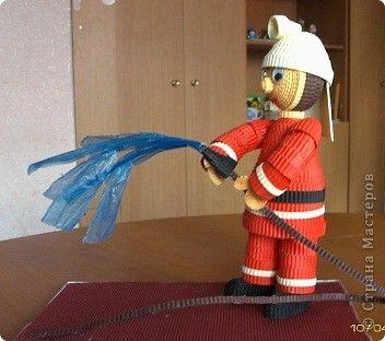 Как сделать пожарного человека своими руками