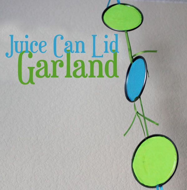 juice can lid garland: Lids Garlands, Crafts Ideas, Diy Colors Galore, Kids Stuff, Crafty Upcycling, Lids Crafts, Green Families, Crafty Contribute, Diy Boards