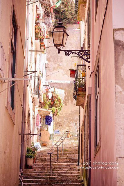 Laneway in Lisbon