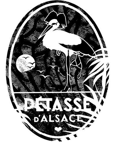 Pétasse d'Alsace logo summer 2015 with Marianne Maric & Estelle Specklin