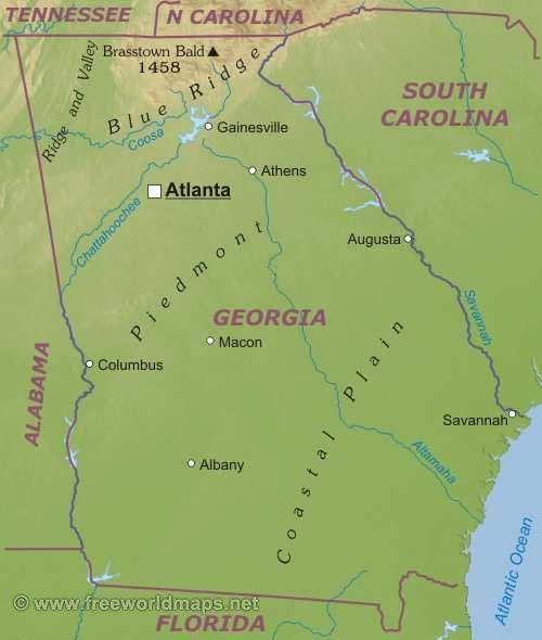Джорджия штат : флаг штата Джорджия Джорджия (англ. Georgia ) — штат на юго-востоке США, четвертый штат, подписавший в 1788 году Конституцию Соединенных штатов. Столица и крупнейший город — Атланта. Население 8 186 453 человек (2000). Официальные прозвища Джорджии — «Персиковый штат»...