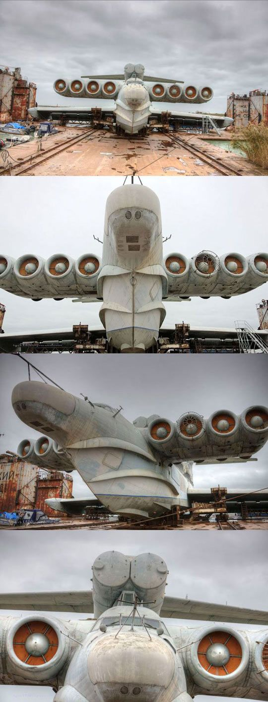 The Russian Tank-Ship-Plane. Wow, this thing is awesome. I wonder if it ever actually flew?