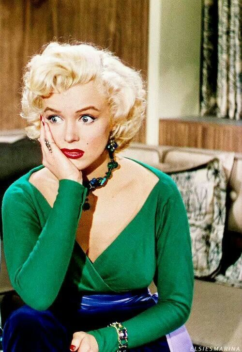 marilyn monroe in �gentlemen prefer blondes� 1953