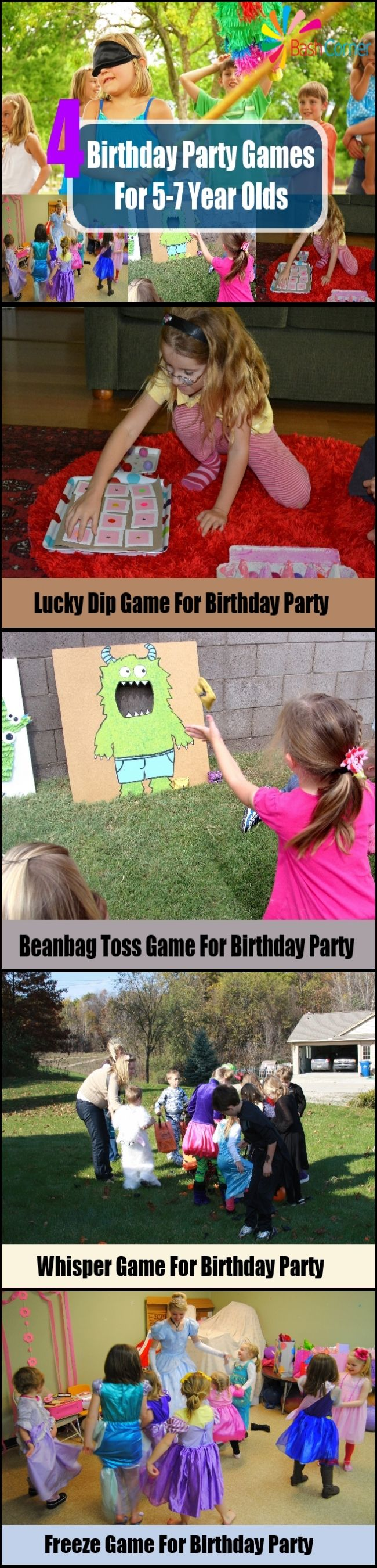 4 Birthday Party Games For 57 Year Olds Celebration