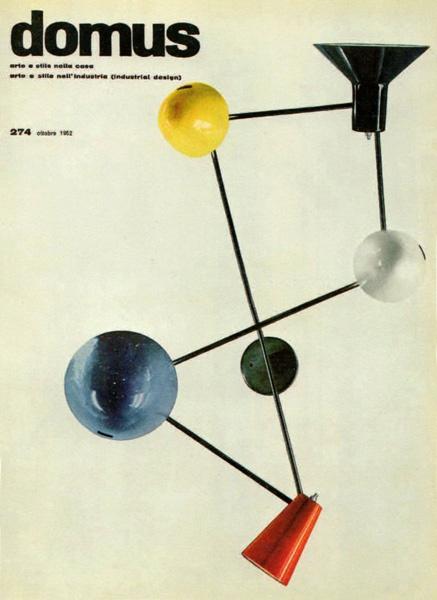 Domus - Gino Sarfatti 191 Lamp