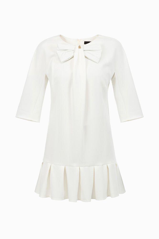Mini abito balze