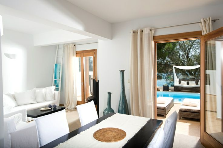 Executive Villa with Private Pool at Minos Beach art