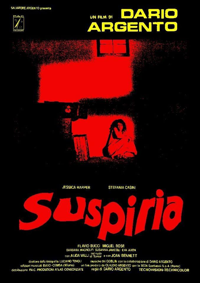 Suspiria (1977) - Dario Argento. Nothing like it.
