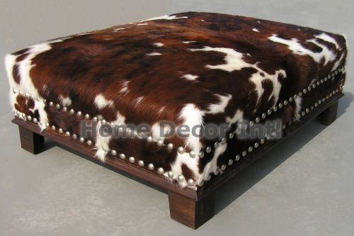 Buy cowhide rugs, cow hide rugs, custom made cowhide rugs and cow hide ottoman made from Brazillian Cowhides and Calfskin for Premium Quality Cow Hide area rugs and decor.