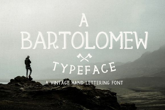 Bartolomew by KlapauciusCo on @creativemarket