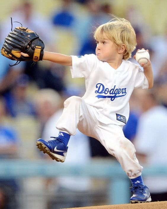 Baseball is my game, determined is my name.  Future Hall of Famer?