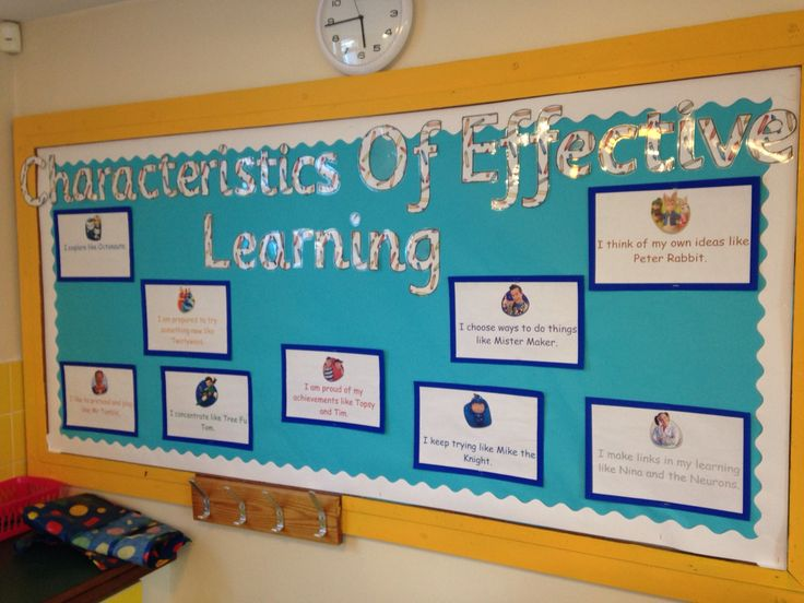 Classroom Ideas Display : Characteristics of effective learning parent s board
