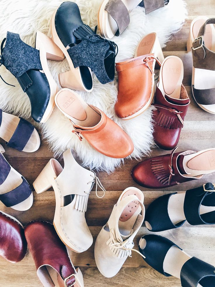 You know that if I own four of anything, it's that good. Whether you're a fan of clogs or not, the moment you step into a pair of Bryr clogs, you know you've stepped into a thoughtfully handcrafted pair of shoes. And trust me when I say you'll instantly fall in love. Each of designer Isobel