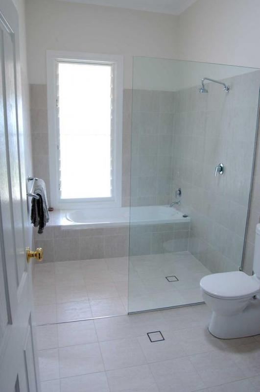 You could move everything around! Would be reversed for you and vanity replaces toilet.