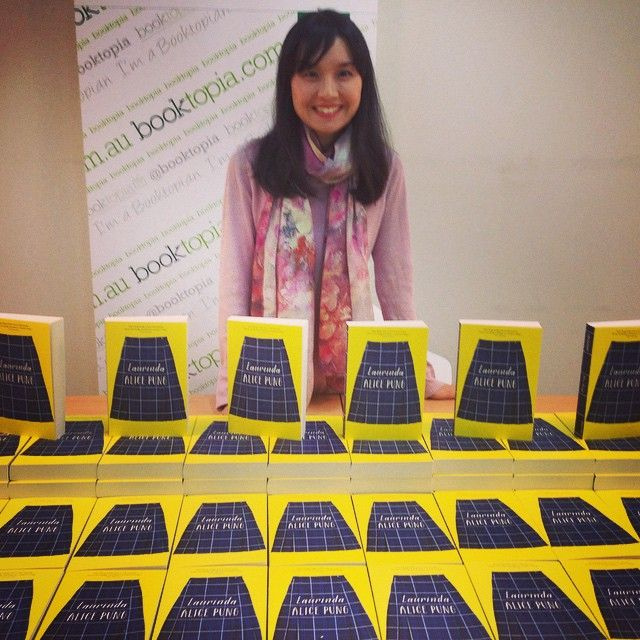 The answer is yes, Alice Pung is as cool in real life as you thought she would be. Her new book Laurinda is another amazing read.