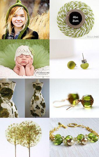 #abeillia #fichate #olive green #treasuries #treasury #etsy