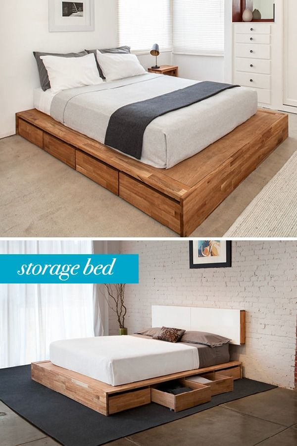 Lax Series Storage Platform Bed Bed Frame With Storage Platform