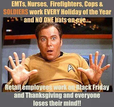 Working Thanksgiving and Black Friday
