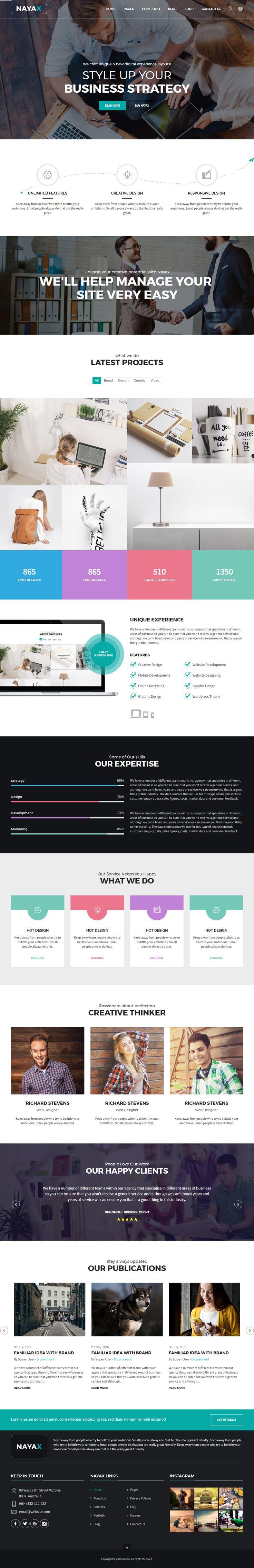 Background image 100 responsive - Nayax Is Premium Responsive Retina Parallax Joomla Template Bootstrap 3 Video Background