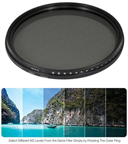 52mm High Quality Variable Neutral Density NDX Filter for Panasonic Lumix DMCGH1 *** Click image to review more details.