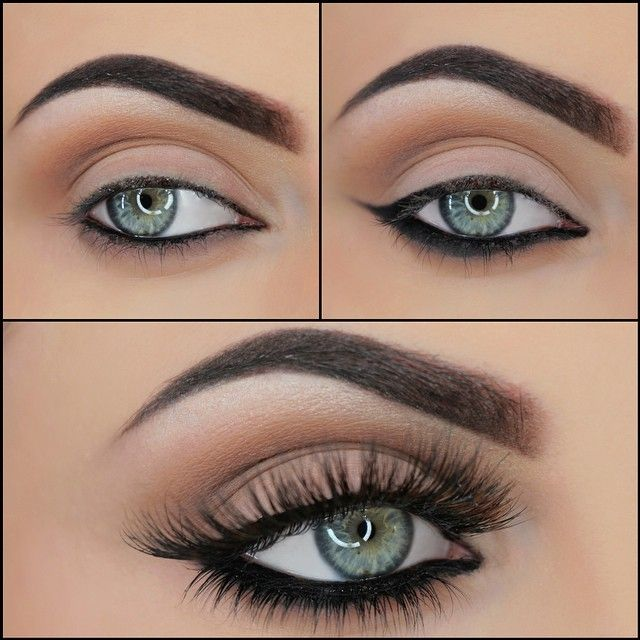 Heavier eyeliner on the bottom rather than the top