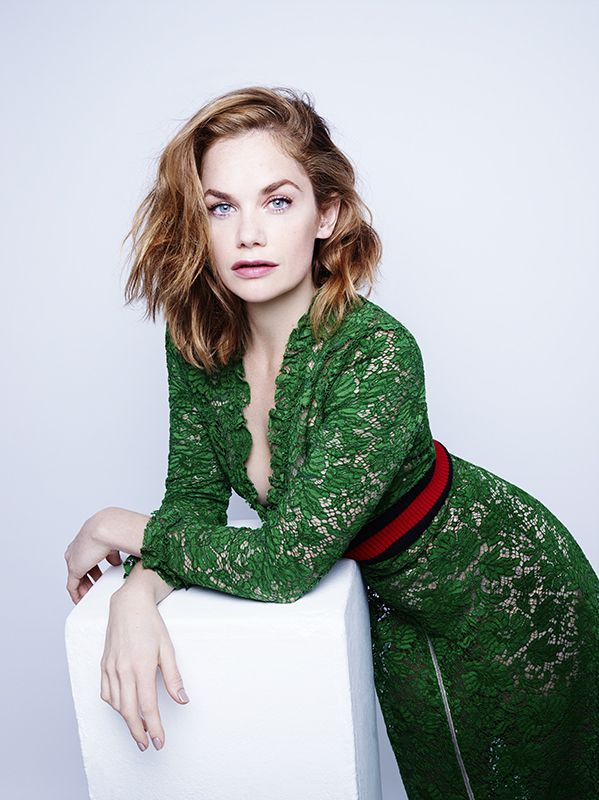 Ruth Wilson looking  for InStyle Magazine. Hair: Nick Irwin, Make Up: Andrew Gallimore, Styling: Hannah Lewis #onefromthearchive