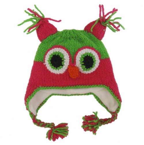 Owl Hat - winter bundle-up hats, the warmest yet!!