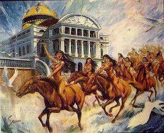 Resultado de imagen de guerreras amazonas