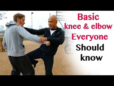 Basic knee & elbow everyone should know - wing chun - YouTube