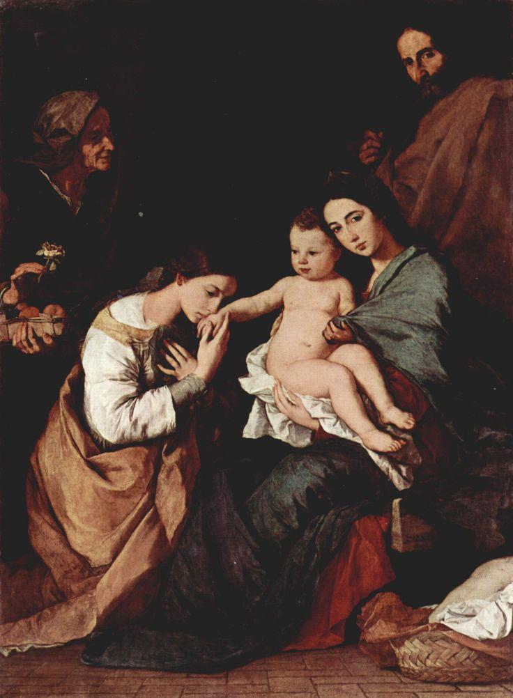 Рибера-Mystische Hochzeit der Hl. Katharina von Alexandrien