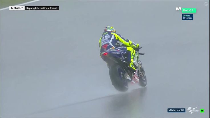 Malaysian GP Race - Testing the Track Conditions