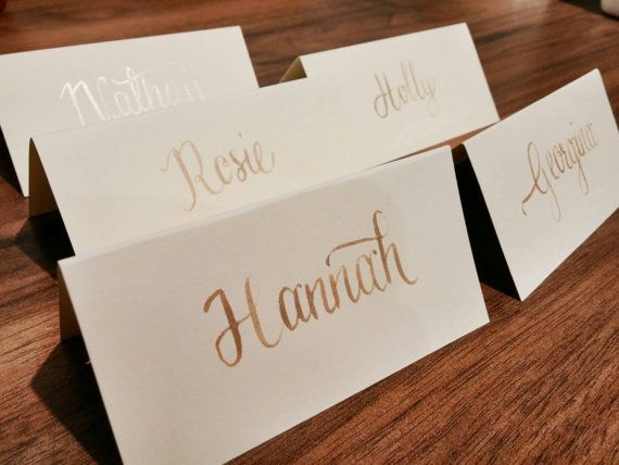 Hey, I found this really awesome Etsy listing at https://www.etsy.com/listing/215636377/wedding-place-card-calligraphy