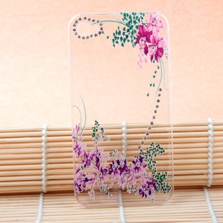 Apple iPhone4 mobile phone shell transparent shell ultrathin iPhone4s rhinestone cell phone shell protective sleeve shell with a drill - found the baby - love shopping - Taobao