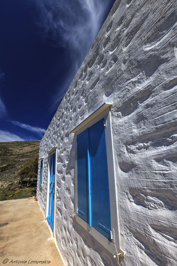 Traditional house, Syros, Greece