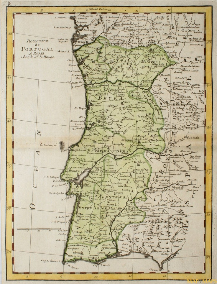 38 best maps images on pinterest cartography dutch and holland kingdom of portugal map 1748 sciox Gallery
