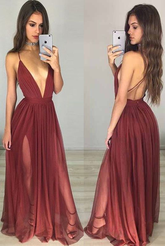 buegundy long prom dresses, deep v-neck prom dresses, dresses for women, 2017 cheap prom dresses, women's prom dresses, sexy prom dresses for women, criss cross prom dresses for party, cheap prom dresses for party, tulle prom dresses for women, high quality prom dresses, new arrival prom dresses, hot selling prom dresses