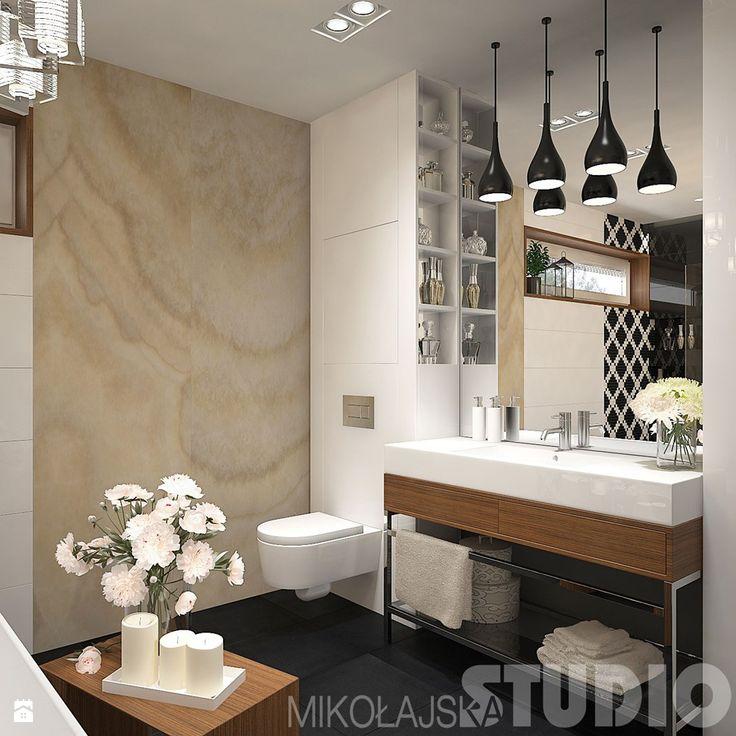 Projekt pieknej łazienki - zdjęcie od MIKOŁAJSKAstudio - Łazienka - Styl Klasyczny - MIKOŁAJSKAstudio