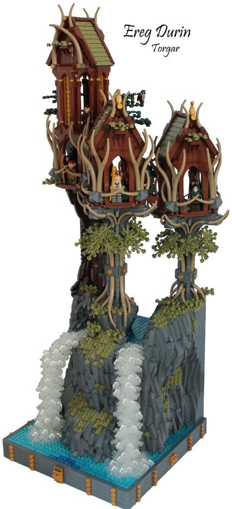 #LEGO Ereg Durin (by 'Torgar). Wow, spectacular.