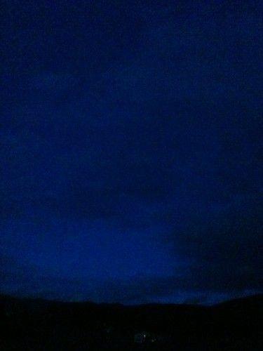 ciel,photo, bleu, nuit, couleur, art