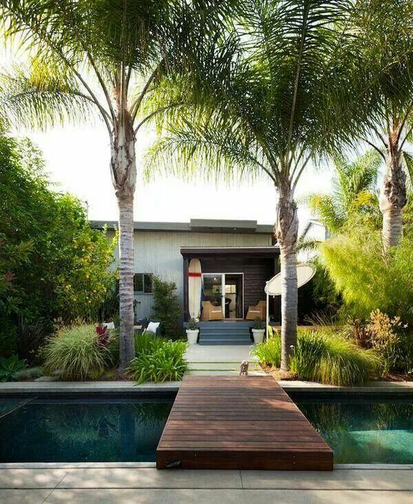 Pool deck haven
