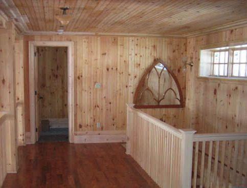 Antique White Walls Wood Trim