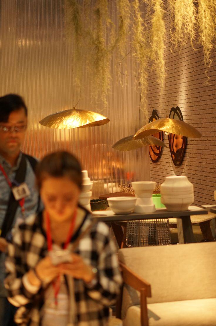#mdw15 #milandesignweek #mdw2015 #isaloni #salonedelmobile #isaloni2015 #salone2015 #milano #milandesignweek2015 #lamp #golden #gold #metal