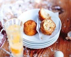 Cromesquis de pommes de terrre, truffes et foie gras Ingrédients