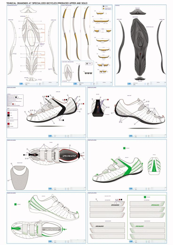 Technical Drawing shoes - Pesquisa Google