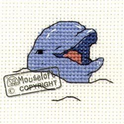 Mouseloft Mini Cross Stitch Kit - Smiling Dolphin, Stitchlets Collection Mouseloft http://www.amazon.co.uk/dp/B003LKKZHE/ref=cm_sw_r_pi_dp_zlXzvb1DMAX46
