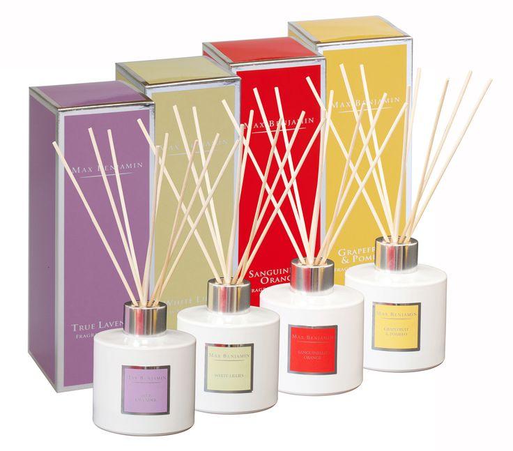 A selection of Max Benjamin diffusers